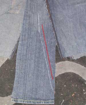 denim skirt pattern 1941