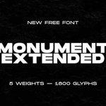 Monument Extended Font Family
