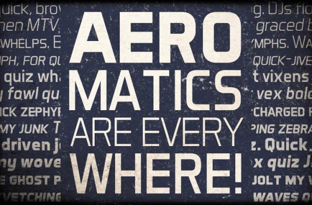 Aero Matics font