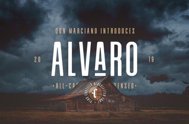 Alvaro Condensed Font Duo