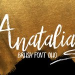 Anatalia Brush Duo Font