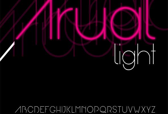 Arual font