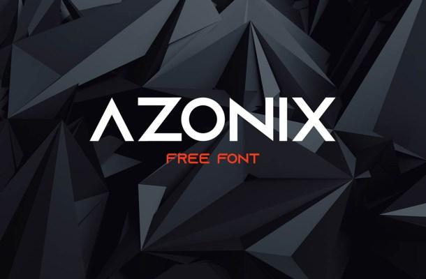 Azonix Typeface