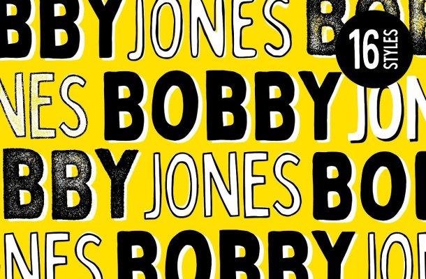 Bobby Jones Font Family