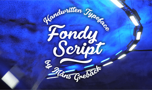 Fondy Script PERSONAL USE ONLY Font