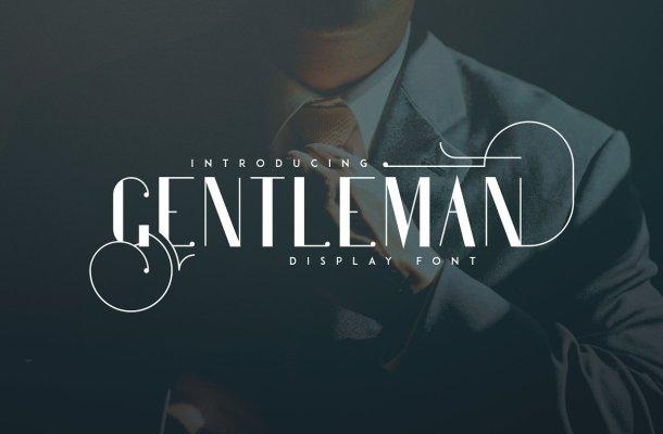 Gentleman Typeface