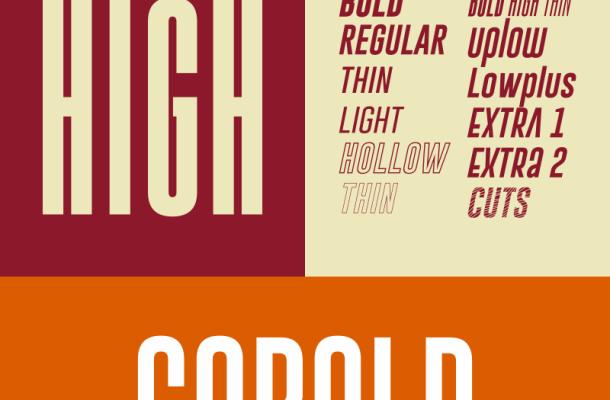 Gobold font