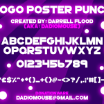 GoGo Poster Punch font