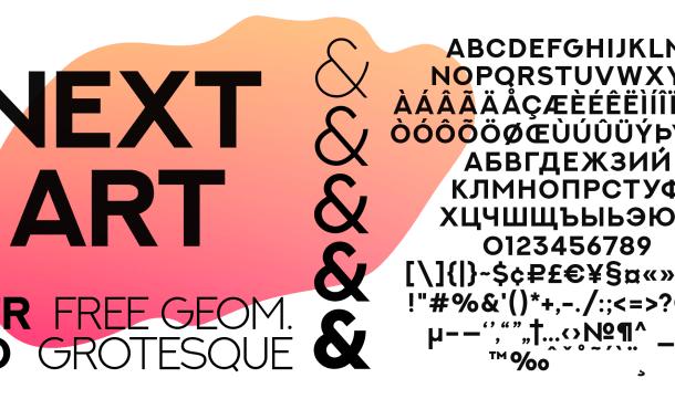 Next Art font