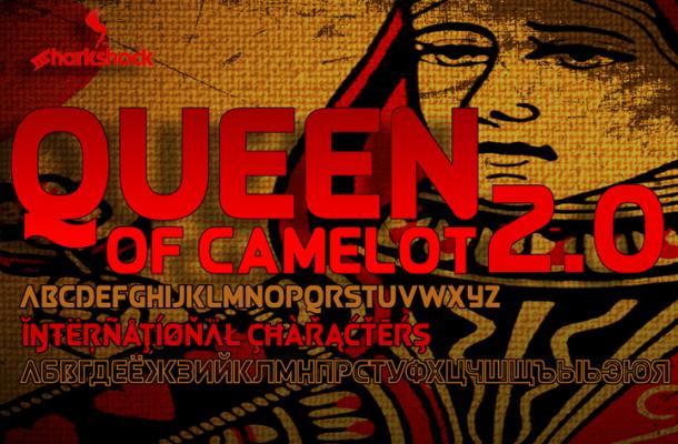 Queen of Camelot font