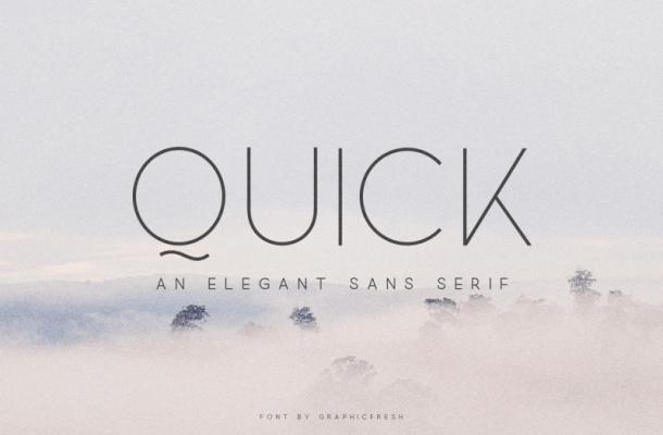 Quick font