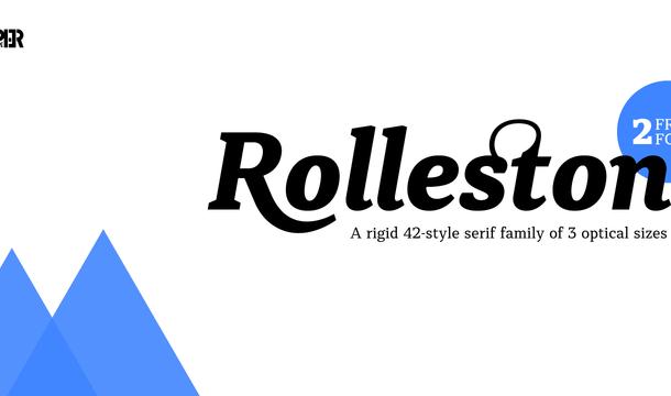 Rolleston Font Family