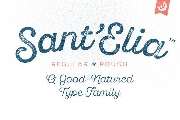 Sant'Elia Script Font
