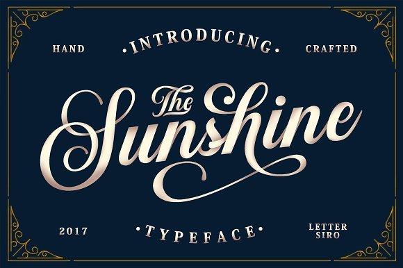 Sunshine Script Font