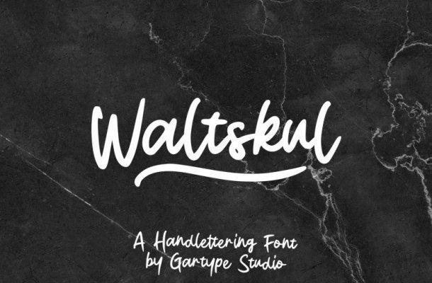 Waltskul Script Font