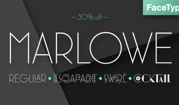 Marlowe font