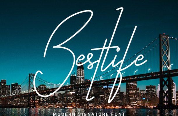 Bestlife Handwritten Font