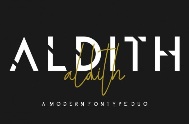 ALDITH Font Duo
