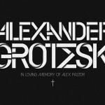 Alexander Grotesk Font Family
