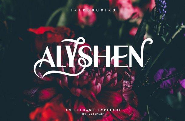 ALYSHEN Typeface