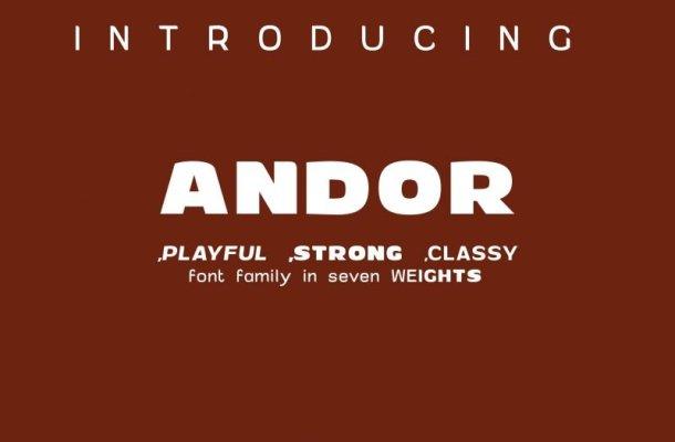 Andor Font