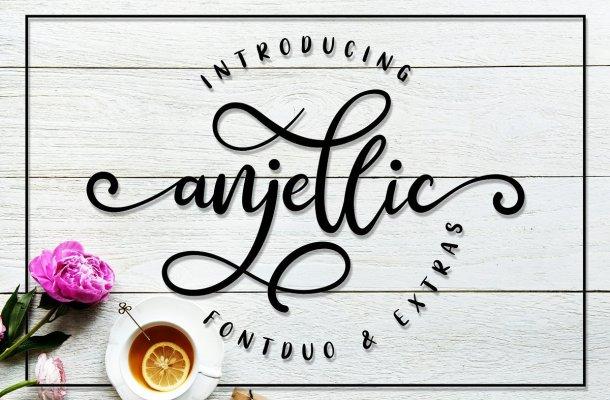 Anjellic Script Font