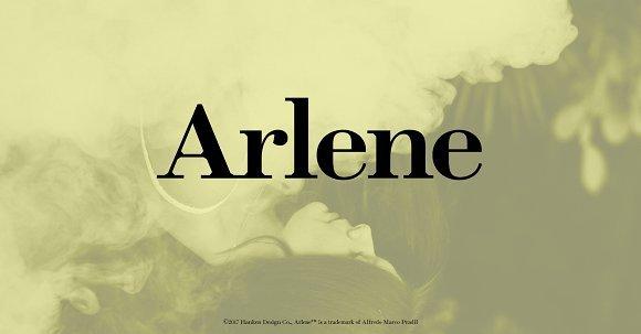 Arlene Font Family