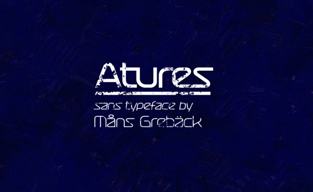 Atures Font Family