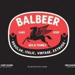 Balbeer Font Family