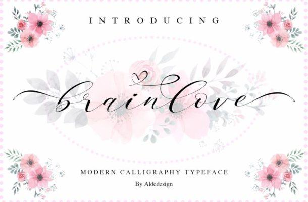 Brainlove Script Font