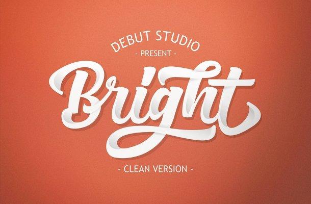 Bright Script Font