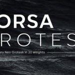 Corsa Grotesk Font Family