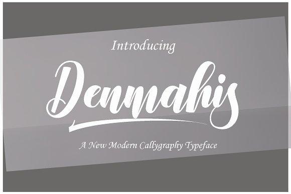 Denmahis Script Font