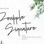 Doupple Signature Font