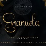 Emanuela Script Font