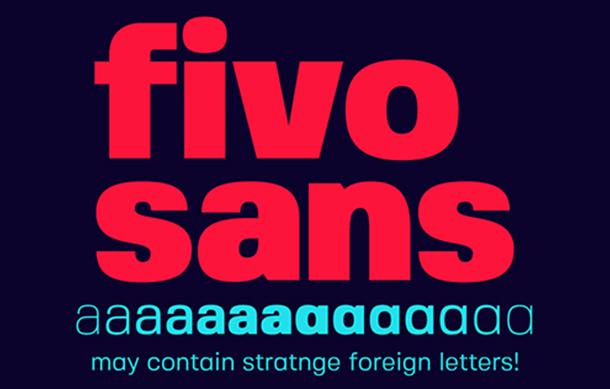 Fivo Sans Font Family