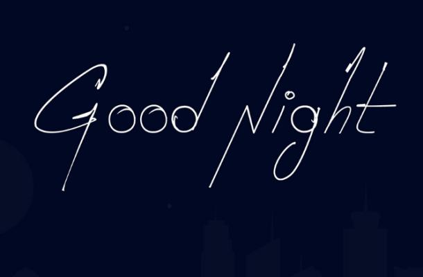 Good Night Font