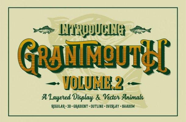 Grantmouth Typeface