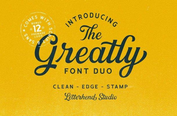 Greatly Script Font