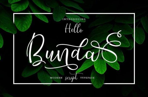 Hello Bunda Script Font