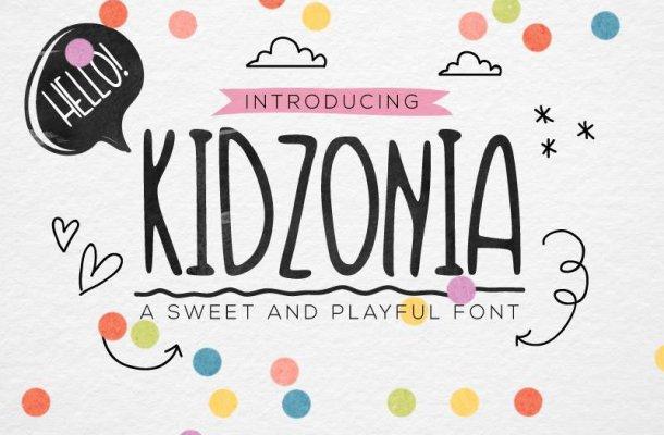 Kidzonia Font