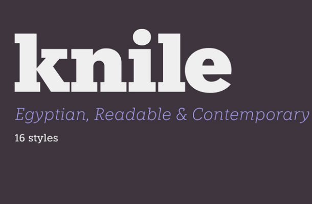 Knile Font Family