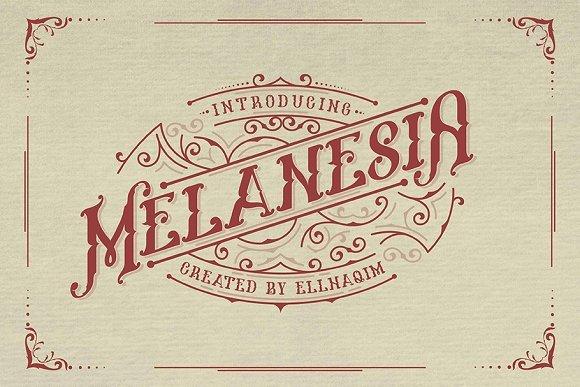 Melanesia Typeface