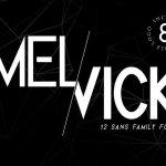Melvick Font Family