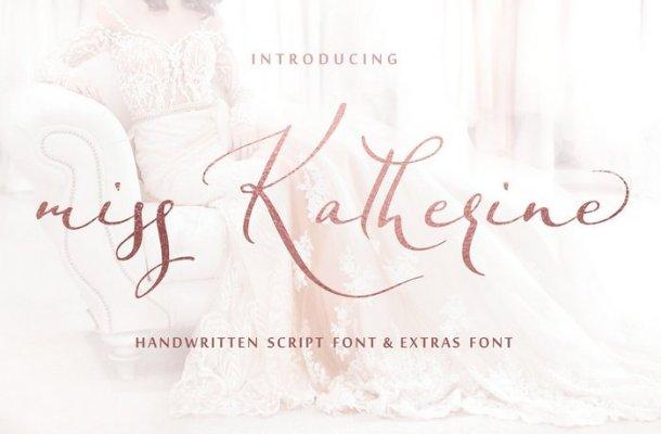 Miss Katherine Script Font