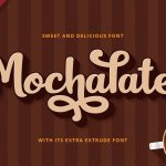 Mochalate Script Font