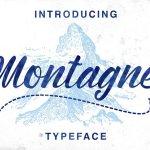 Montagne Script Font