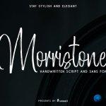 Morristone Script Font