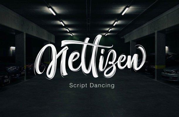 Nettizen Script Font