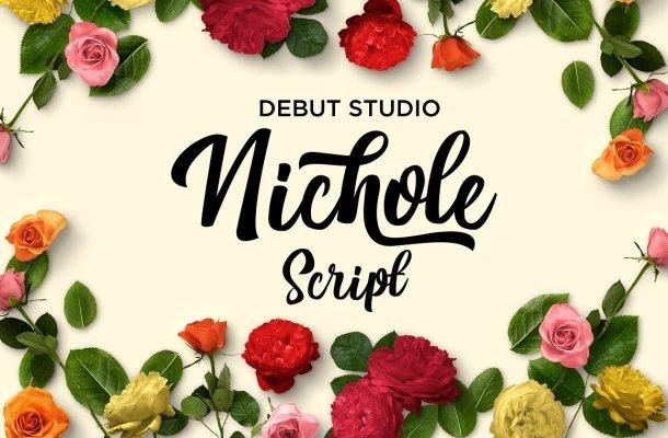 Nichole Script Font